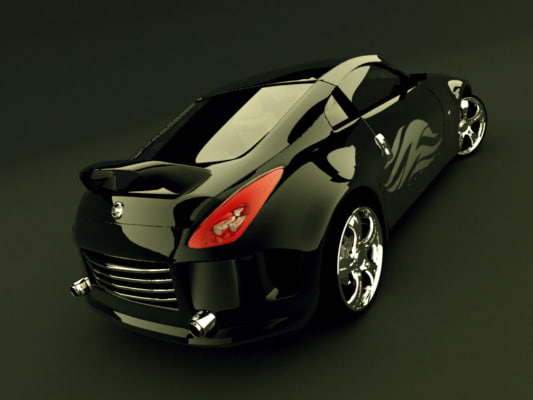 3d 3ds tuned nissan z350