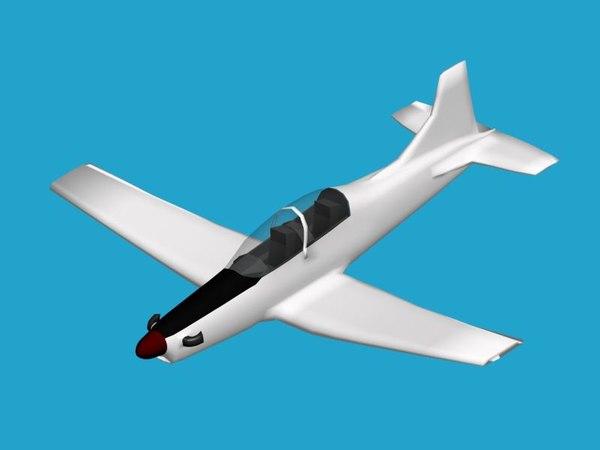 pilatus pc-9 3d max