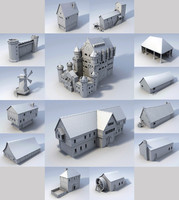 medieval buildings lwo