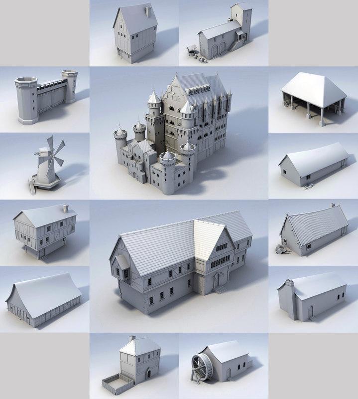 medieval buildings lwo