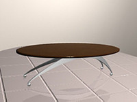 surf table 3d model