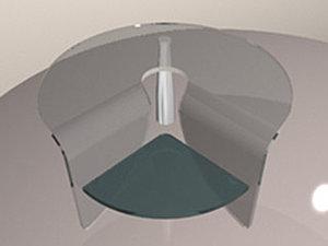table3 3d model
