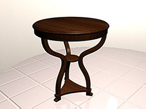 3d model coffee table1