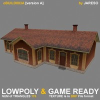 Lowpoly building - oBuild_003A.rar