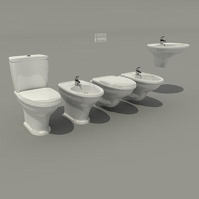 toilet c4d