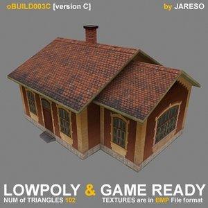 oldtime building - obuild 3ds