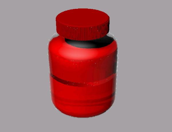 paint bottle 3ds free