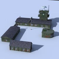 max military airfield buildings