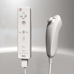 wii controllers remote wiimote c4d