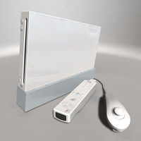 Nintendo Wii Console & Controllers