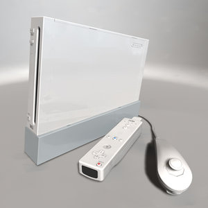 3ds max wii console controllers
