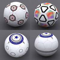soccer ball soccerball 3d model