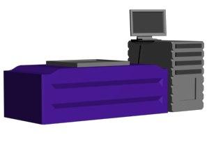 3d ict test equipment model
