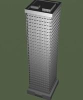 building skyscraper 3d obj