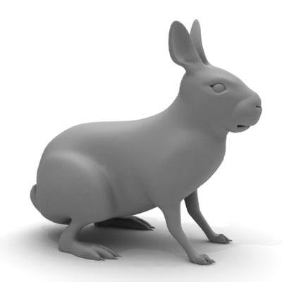 rabbit 3d 3ds