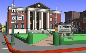 1955 city hill valley 3ds