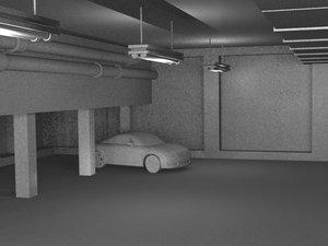 3dsmax car parking