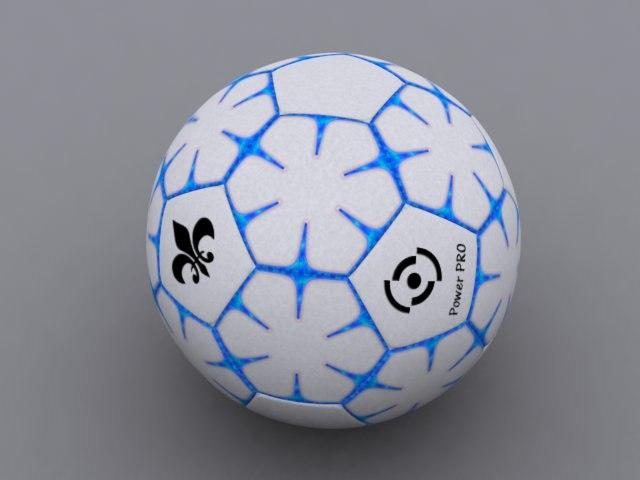 football soccer ball 3d model