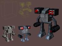 mechanical robot max