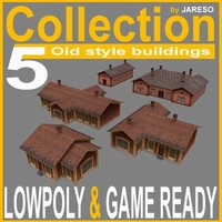 collection_of_5_old_style_buildings.rar