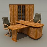 ofise table 3d 3ds