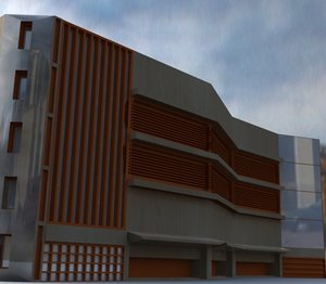 structure expo 3d dxf