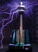 3ds max tesla coil
