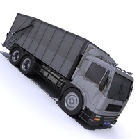 HGV Garbage Disposal Truck_15.zip