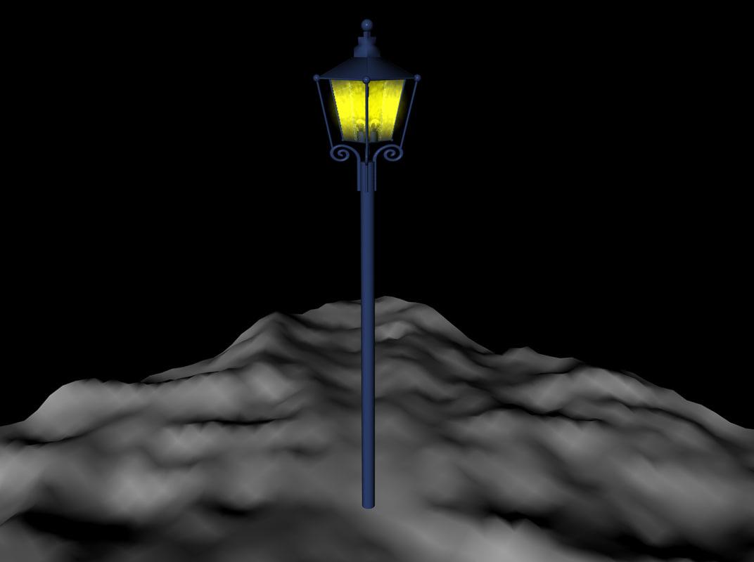 street lamps lantren 3d model