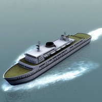 ss finlandia cruise liner 3d 3ds