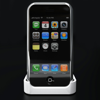 apple iphone accessories phone 3d model