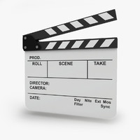 White Film Clapboard