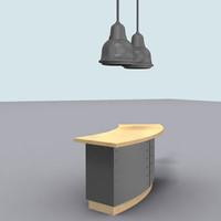 reception desk max