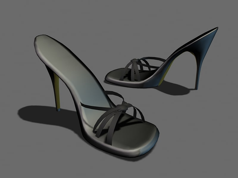 sexy shoes 3d model
