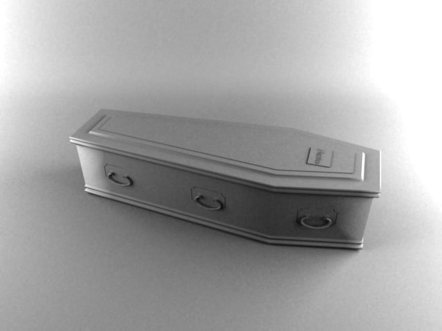 cercueil coffin 3d model