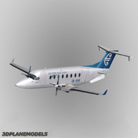 3d beechcraft 1900d new zealand