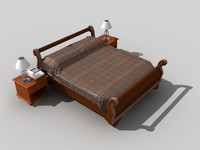 Classic bed.rar