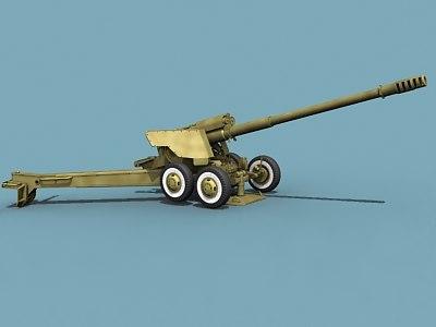 soviet russian artillery 3d 3ds