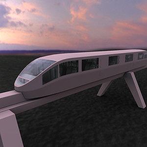 3ds trailway train