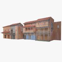 Roman Shop Building