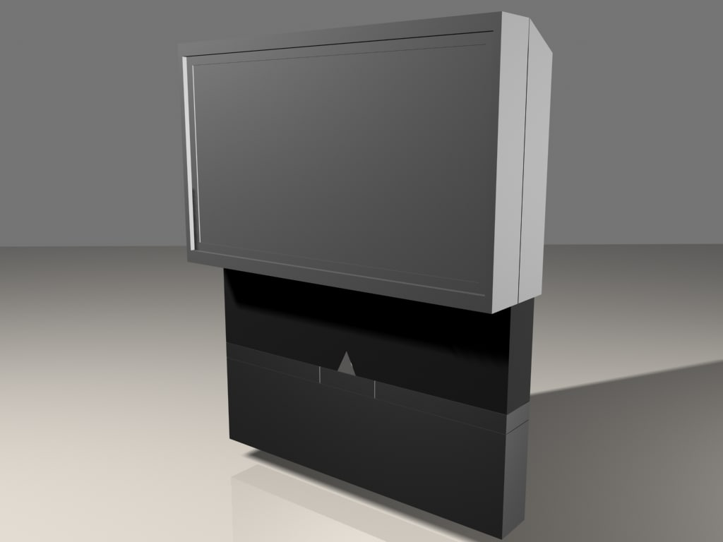 3ds max television