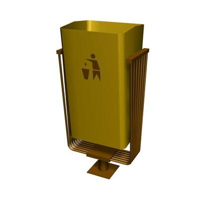 3d model street bin
