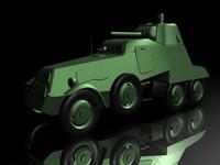 3d brone tank