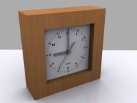 3ds max wood clock