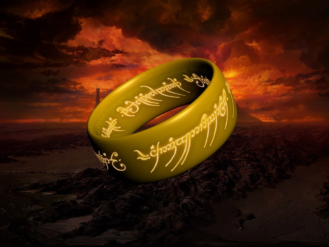 3d model ring lord