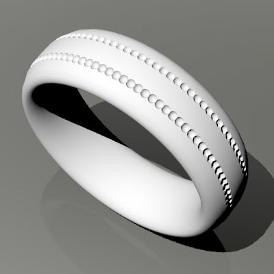 free 3dm model wedding band