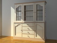 cabinet storage 3d max