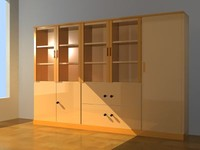 3d model cabinet storage
