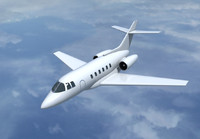 3d model of raytheon hawker 800 private jet
