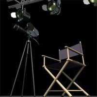 3ds max studio scene movie director chair